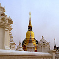 Wat Suan Dok Royal Cemetery  by Shaun Higson
