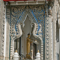 Wat Suan Phlu Ubosot East Portico Dthb1133 by Gerry Gantt