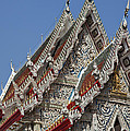 Wat Suan Phlu Ubosot Gable Dthb1132 by Gerry Gantt