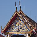 Wat Thewarat Kunchorn Gable Dthb286 by Gerry Gantt