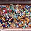 Wat Uphai Rat Bamrung Dancing Dragon Diorama Dthb1095 by Gerry Gantt
