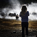 Watching The Bison by Carolyn Fox
