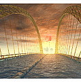 Water Bridge by Harald Dastis