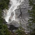 Water Cascading Down The Rock And by Keith Levit