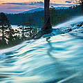 Water Flow Above Emerald Bay by Marc Crumpler
