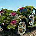 Water Lily Truck by Carolyn Dalessandro