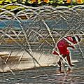 Christian Science Fountain 02 by Jeff Stallard