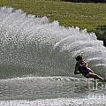 Water Skiing 19 by Vivian Christopher