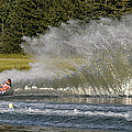 Water Skiing 4 by Vivian Christopher