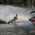 Water Skiing 8 by Vivian Christopher