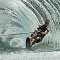 Water Skiing Magic Of Water 10 by Bob Christopher