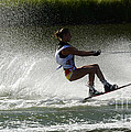 Water Skiing Magic Of Water 16 by Bob Christopher