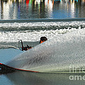 Water Skiing Magic Of Water 17 by Bob Christopher