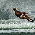 Water Skiing Magic Of Water 2 by Bob Christopher