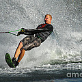Water Skiing Magic Of Water 20 by Bob Christopher