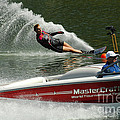 Water Skiing Magic Of Water 26 by Bob Christopher