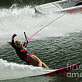 Water Skiing Magic Of Water 28 by Bob Christopher