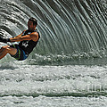 Water Skiing Magic Of Water 3 by Bob Christopher