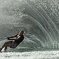 Water Skiing Magic Of Water 31 by Bob Christopher