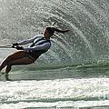 Water Skiing Magic Of Water 32 by Bob Christopher