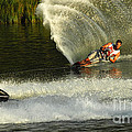 Water Skiing Magic Of Water 33 by Bob Christopher