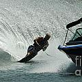 Water Skiing Magic Of Water 6 by Bob Christopher