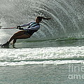 Water Skiing Magic Of Water 9 by Bob Christopher
