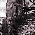 Water Wheel Old Mill Cherokee North Carolina  by Susanne Van Hulst