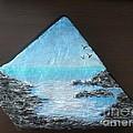 Water With Rocks by Monika Shepherdson