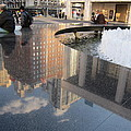 Lincoln Center Reflections by Stefa Charczenko
