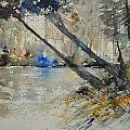 Watercolor 119080 by Pol Ledent