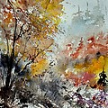 Watercolor 218022 by Pol Ledent
