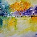 Watercolor 219041 by Pol Ledent