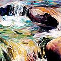 Waterfall Maui by Rae Andrews