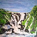 Waterfall by Rajan Panse