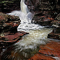 Waterfall Ricketts Glen by Dave Mills