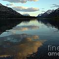 Waterton Lake Sunset Canada by Vivian Christopher