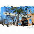 Wauwatosa Railroad Sign by Geoff Strehlow