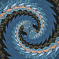 Wave Mosaic. by Clare Bambers