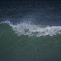 Wave Sprey On A Windy Day At Jupiter Beach by Robert Valentine
