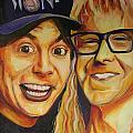 Wayne And Garth by Kate Fortin