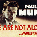 We Are Not Alone, Paul Muni, 1939 by Everett