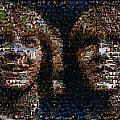 Weasley Twins Mosaic by Paul Van Scott