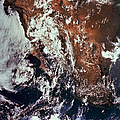 Weather Patterns Over Earth by Stocktrek Images