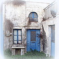Weathered Greek Building by Carla Parris