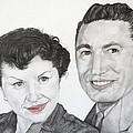 Wedding Day 1954 by Mayhem Mediums