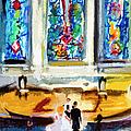 Wedding Day At Second Presbyterian Church Charleston Sc by Ginette Callaway