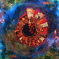Wee Manhattan Planet - Artist Rendition by Nikki Marie Smith