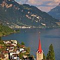 Weggis Switzerland by Brian Jannsen