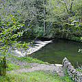 Weir Below Lover's Leap - Dovedale by Rod Johnson